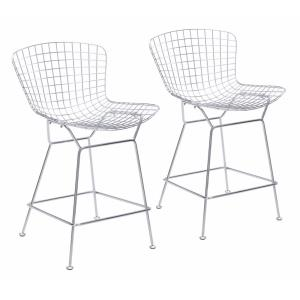 Wire - 35.8 Inch Counter Chair (Set Of 2)