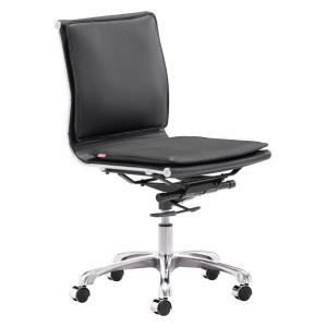 """Lider Plus - 36.6"""" Armless Office Chair"""