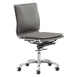 Lider Plus - 36.6 Inch Armless Office Chair
