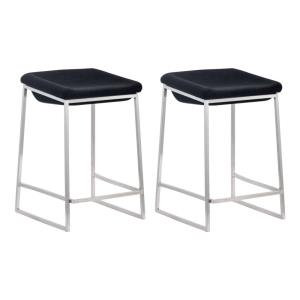 Lids - 25.6 Inch Counter Stool (Set Of 2)