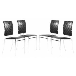 Criss Cross - 35 Inch Dining Chair Criss Cross - 35 Inch Dining Chair (Set Of 4)