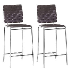 Criss Cross - 39 Inch Counter Chair Criss Cross - 39 Inch Counter Chair (Set Of 2)