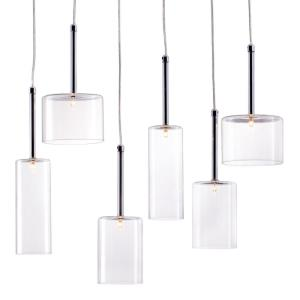 Hale - Six Light Pendant