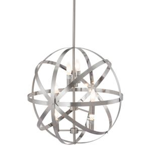 Aston - Six Light 3-Tier Pendant