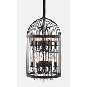 Canary - Twelve Light 2-Tier Chandelier