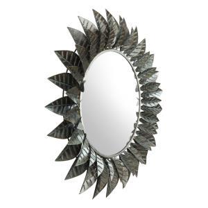 Leaf - 39 Inch Round Mirror